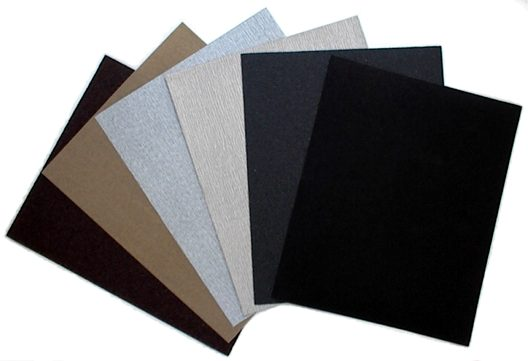Buy Silicon Carbide Sandpaper for sanding fillers, paints & varnishes