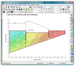 Buy SEEP/W software product groundwater seepage analysis
