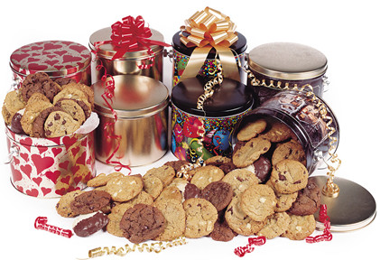 Cookies and Crackers Cookie Tins