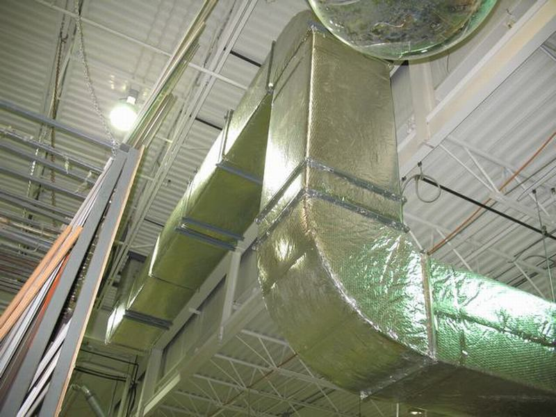 Buy Exhaust Fan and Ducting System