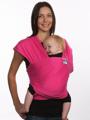 Buy Moby Wrap Fuschia with UV protection