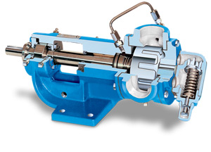 Abrasive liquid pumps