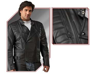 Buy Men's Custom Leather Jacket