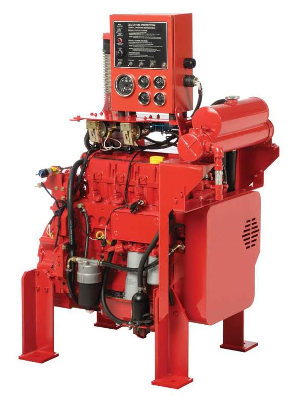 Buy Fire protection engines EPA tier 1 CARB solutions