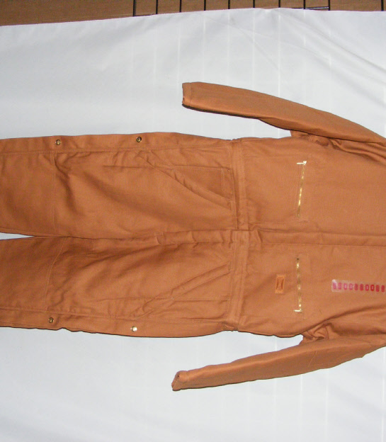 Buy Men's workwear, Deluxe Lined Coverall 12onz Duck Shell