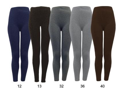 Buy Basic Solid Legging-L6100