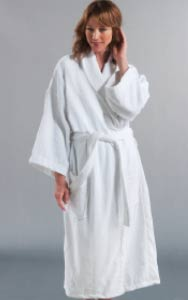 Buy Shawl collar Robe in velour