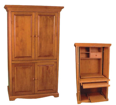 Trad Computer Armoire Buy In Burnaby