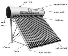 Buy Solar Water Heater System 158L HP