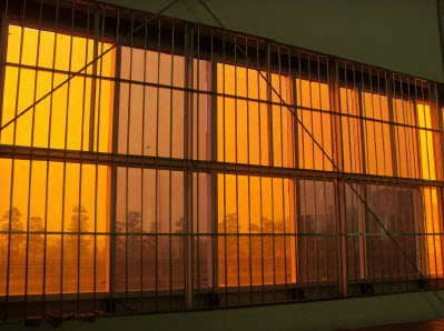Buy Transparent solar panel as building material
