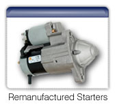 Buy Remanufactured starters