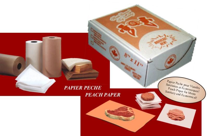 Buy Peach Market Paper (Meat Wrap)