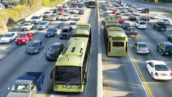 Buy Nova LFX suburban and shuttle applications bus