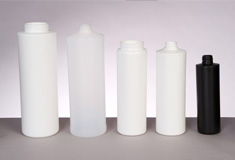 Buy Cylinder plastic bottles