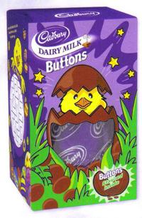 Buy British Cadbury Milk Button Button Egg