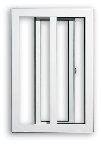 Buy PVC Single Sash Sliding Windows