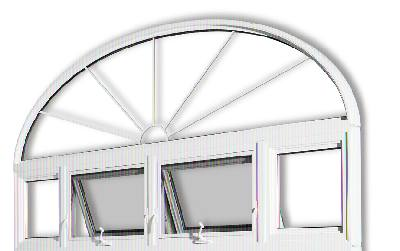 Buy PVC Specialty Windows
