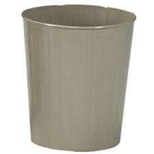 Buy All Steel Round Wastebaskets Safco Fire-Safe