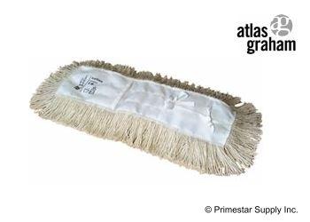 "Buy 18"" Cotton Value Tie-On-5"" Dust Mop - UntreatedXLarge"