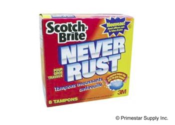 Buy 3M Scotch-Brite Never Rust Pads