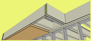 Buy Cantilever Soffit Insulated Panels