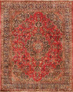Buy Persian Area Rugs and Carpets. Mashad rug 9'8'' x 12'1''.