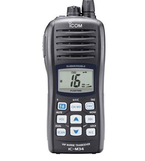 Buy Marine Transceiver IC-M34 VHF
