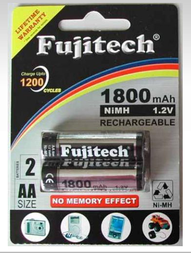 Buy Rechargeable Batteries FB-2A18