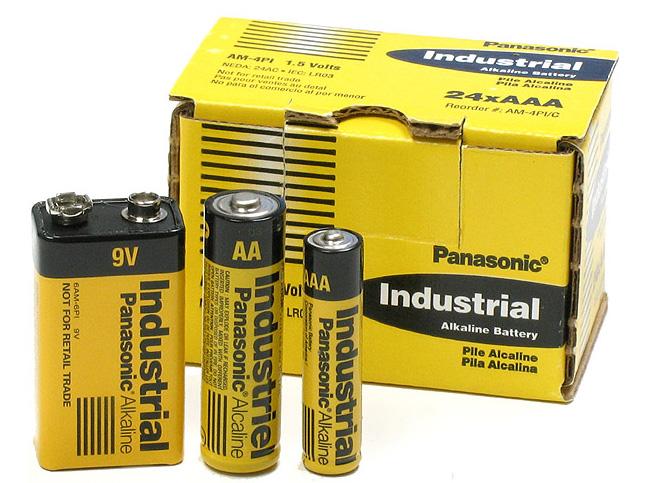 Buy Industrial Alkaline batteries