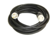 Buy 10/3 RUB CORD 25' WITH L530 MALE+FEMALE ENDS