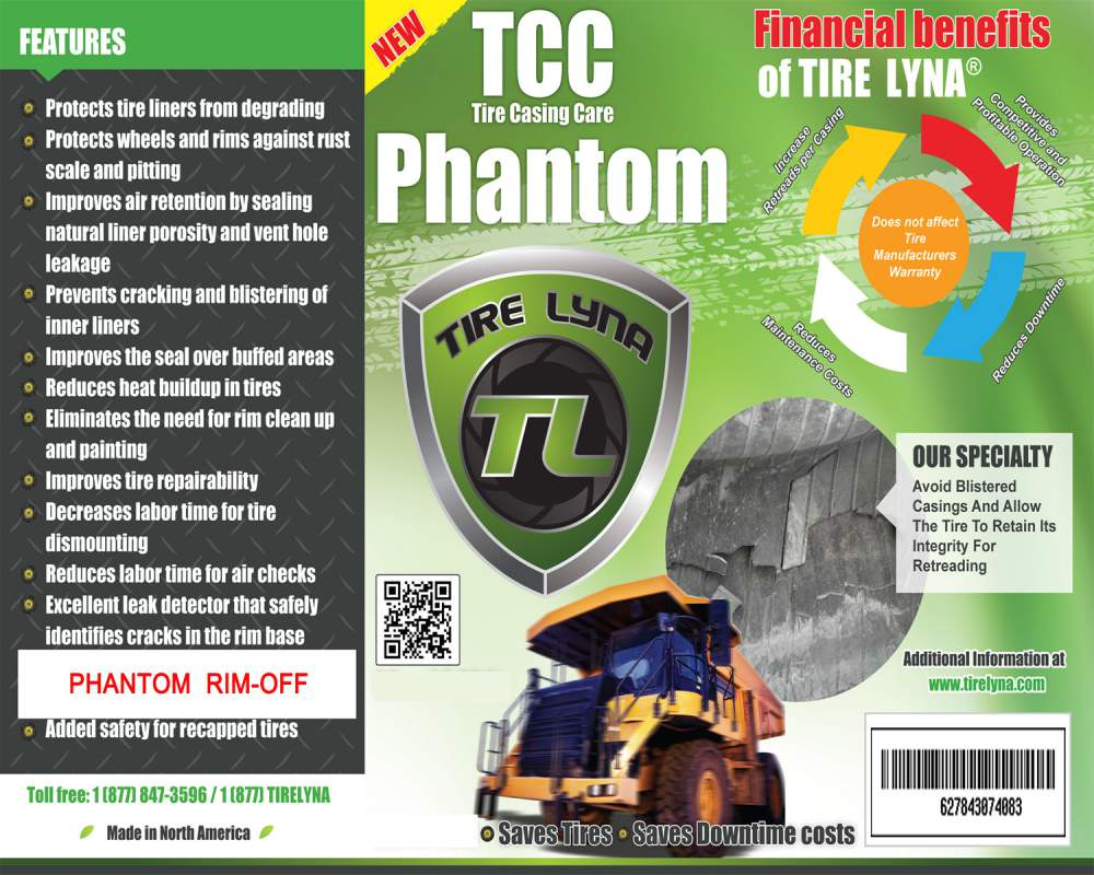 Buy Tire Lyna Phantom Rim-Off