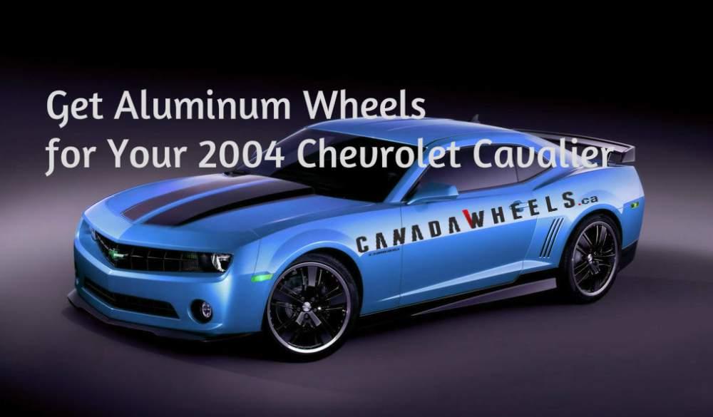 Buy Aluminum Wheels for Your 2004 Chevrolet Cavalier