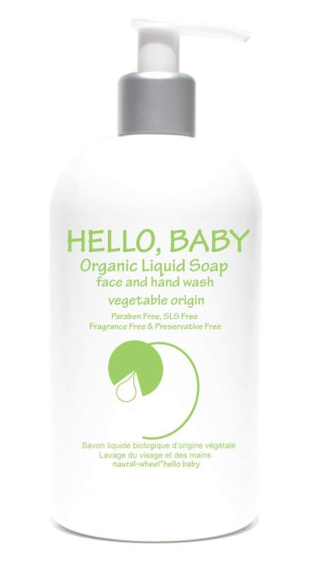 Buy Baby ORGANIC LIQUID SOAP face and hand wash