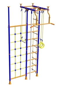 "Buy Indoor Home Gym ""T-shaped with a net for climbing"""