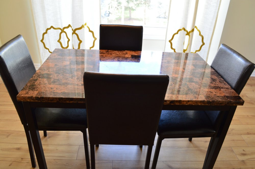 Buy A dining table with 4 chairs
