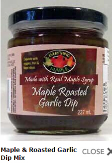 Buy Maple & Roasted Garlic Dip Mix