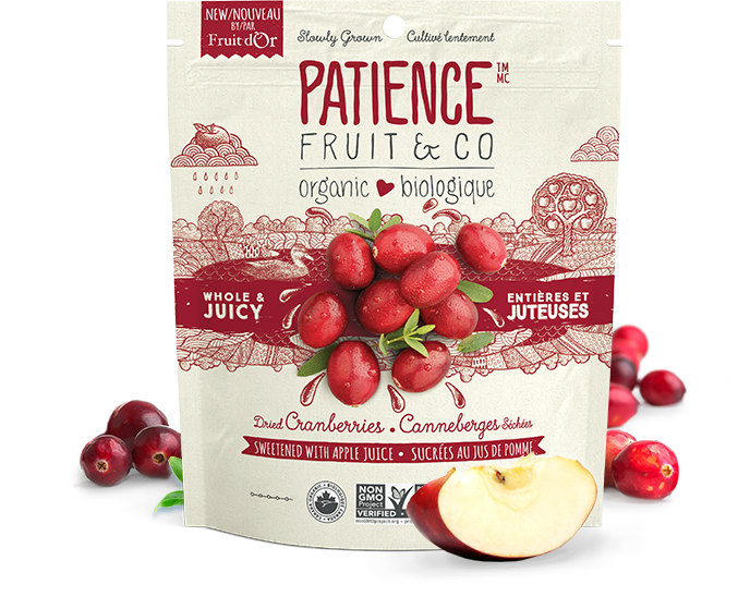 Buy  Organic Whole & Juicy Dried Cranberries, sweetened with apple juice