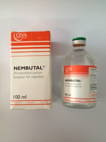 Pentobarbital sodium , seconal sodium