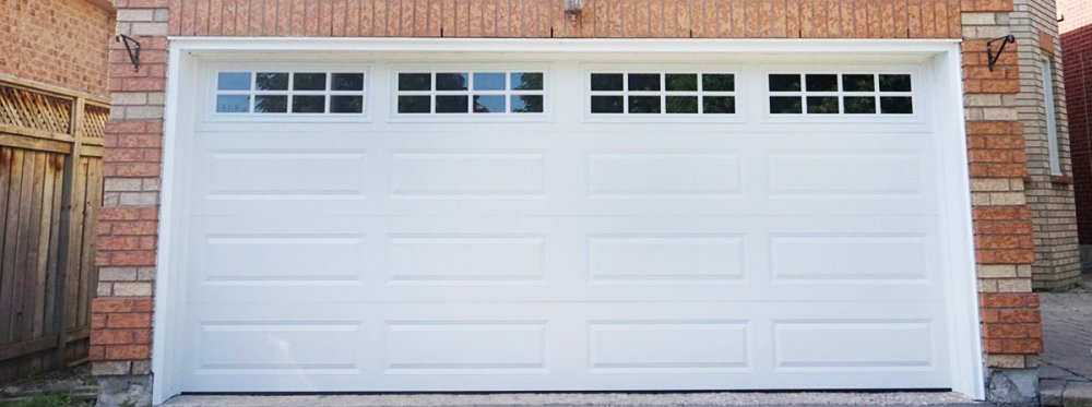 Buy White Steel Insulated Doors