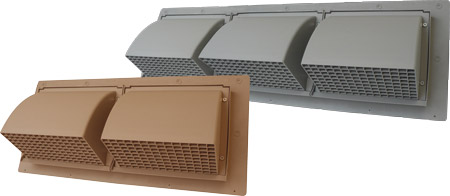 Wcd & wdt double & triple wall cap vents