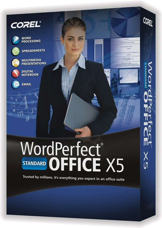 Buy WordPerfect Office X5 - Standard