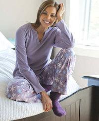 Womens Denver Hayes Dream Fleece PJs