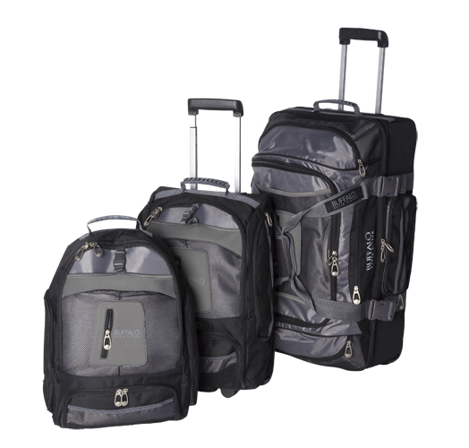 "LUGGAGE 27"" ROLLER DUFFLE/20"" ROLLER B/P/18""B/P """