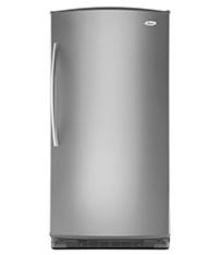 Whirlpool® 20.1 Cu. Ft. Upright Freezer Silver |