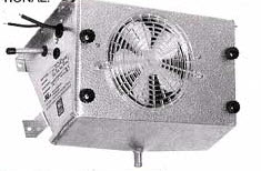 Medium temperature unit coolers for refrigerated