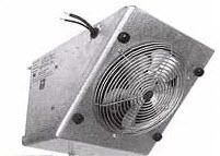 Unit coolers slope temperature