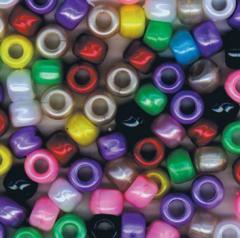 Pearlized Pony Beads