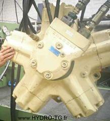Hydraulic motors 7 - 18 cc