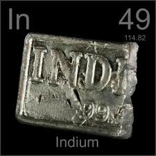 99.998% minimum purity Indium