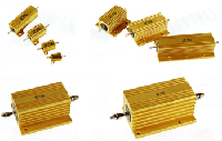 Fixed power wirewound resistors aluminum housed